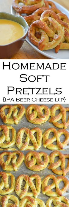 Homemade Soft Pretzels + IPA Beer Cheese Dip