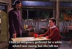 It's Kirk. It's Gilmore Girls. love.