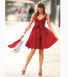 Vestido mujer sin mangas línea evasé 100% algodón Moda Mujer 17 Venca