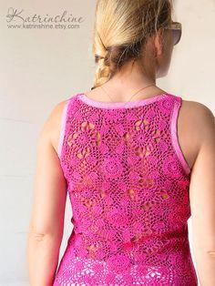 Tutorial: Crochet Back Tee Shirt. Styled from napkins and tablecloths. http://img0.etsystatic.com/017/0/5770395/il_fullxfull.505975064_sxge.jpg http://img-fotki.yandex.ru/get/6718/201080456.126/0_14fb57_7b983e66__orig.jpg http://img0.etsystatic.com/018/1/5770395/il_fullxfull.522030098_g860.jpg http://cs2.livemaster.ru/foto/large/8f822731525-odezhda-yarko-zheltaya-majka-so-azhurnoj.jpg http://img1.etsystatic.com/040/0/5770395/il_fullxfull.506031055_qxer.jpg