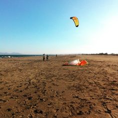 Wind blows up later on but it was enough to teach!! #Impulse #2M #school #kitesurf #paddleboarding #ski #snowboard #fun