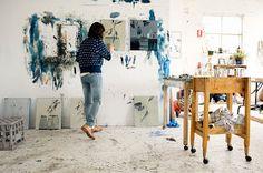 Studio Visit: Emily Ferretti, Gertrude Contemporary, Fitzroy