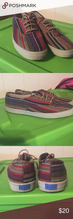 "Baja ""drug rug"" shoes No longer wear Keds Shoes Flats & Loafers"