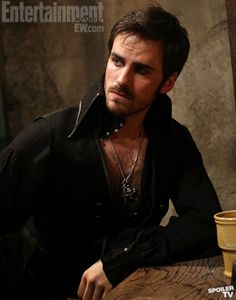 Colin O'Donoghue will be Captain Hook on Once Upon a Time. yes please.