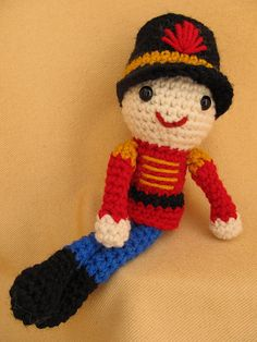Ravelry: Marching Tin Soldier Amigurumi Crochet Pattern pattern by Deb Richey