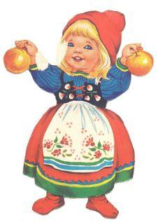 DANISH Dekorationsnisser   ENGLISH Decorative Gnomes by Iben Clante Christmas Gnome, Little Christmas, Christmas Art, Christmas And New Year, Xmas, Vintage Christmas Cards, Christmas Greeting Cards, Christmas Greetings, Vintage Cards