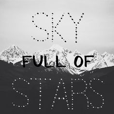 COLDPLAY - A SKY FULL OF STARS / Ghost Stories