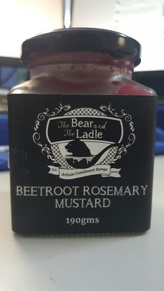 Beetroot Rosemary Mustard
