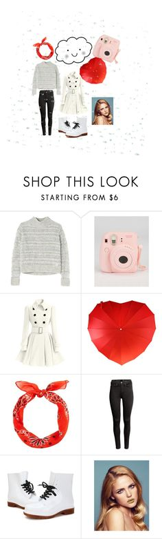 """""""Its raining"""" by liesje-2002 on Polyvore featuring mode, Rebecca Taylor, H&M en Bluebellgray"""