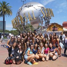 Our students visit Universal Studios