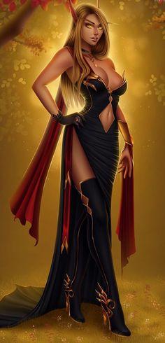 Elven girl Elementals t Fantasy art Fantasy concept art Fantasy Art Women, Dark Fantasy Art, Fantasy Girl, Fantasy Artwork, Fantasy Races, Fantasy Warrior, Elves Fantasy, Warcraft Art, World Of Warcraft