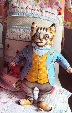 cat pillow ~ Get Ozzi #Cat #Magazine - All about #cats! >> http://OzziCat.com.au