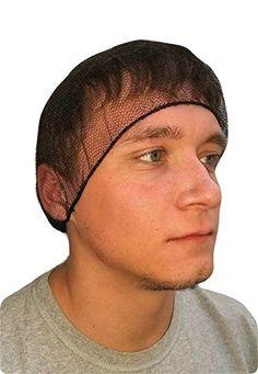 a4f56b33d1d ProCES Disposable Hairnet - Black Pack)  Lightweight