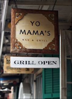 yo mama's burgers new orleans - Excellent burger in the French Quarter. Right off of Bourbon street