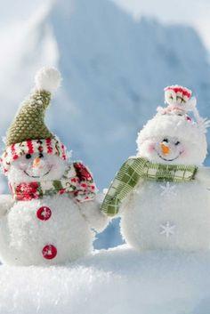 *Cute little snowmen