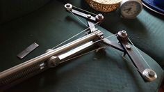 Mein neues projekt feder als kraftquelle #springpowerd crossbow