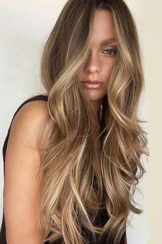 Honey Blonde Hair Color, Balayage Hair Caramel, Blonde Hair Shades, Hair Color Caramel, Brown Hair With Blonde Highlights, Balayage Hair Blonde, Honey Hair, Highlights For Brunettes, Blonde Hair Honey Caramel