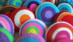 Pufs de ganchillo o crochet | Portaldelabores.com | Portal de labores