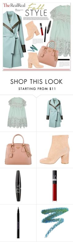 """""""Fall Style With The RealReal: Contest Entry"""" by vidrica ❤ liked on Polyvore featuring Chloé, Prada, Maison Margiela, NYX, NARS Cosmetics, Urban Decay, Manic Panic, polyvoreeditorial, fallstyle and TheRealReal"""