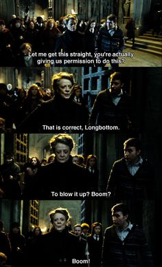 There's only one Professor McGonagall
