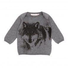 Baby Wolf sweater - Grey