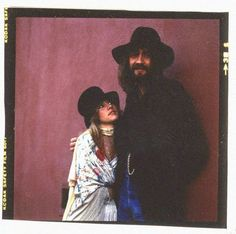 Stevie Nicks and Mick Fleetwood, 1970s.