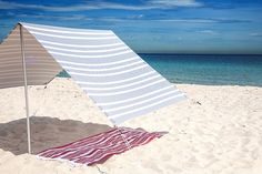 Stylish Beach Tents - San Diego Magazine - July 2015 - San Diego, California |Beach tents by Lovin' Summer