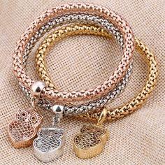 Hollow Charm Bracelet