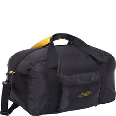 A. Saks 22'Carry-On Nylon Duffel Bag With Pouch -- You can get additional details at the image link.