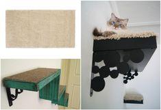 Klettergerüst Für Katzen Selber Bauen : Besten kratzbaum selber bauen bilder auf in