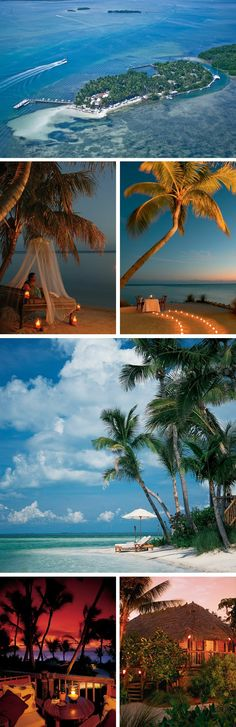 Little Palm Island, Florida  This has been my destination wedding place for 10 years now...don't think I'll ever not want to get married here.