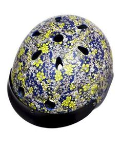 Floral_Midnight_Bike_Helmet_Top  How cool is that. Bicycle helmet with liberty of London print.