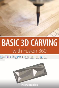 Basic Carving With Fusion 360 Use a CNC and Fusion 360 to model, set up tool paths, and cut out a polymetric shape. Cnc Router Plans, Diy Cnc Router, Cnc Plans, Cnc Woodworking, Woodworking Workshop, Metal Lathe Projects, Router Projects, Sheet Metal Tools, Fusion 360