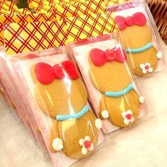 ドラミちゃんのアイシングクッキー