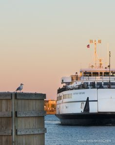 """Bryan and I took the ferry from Woods Hole for a short, weekend trip to Martha's Vineyard the weekend after Columbus Day. Columbus Day weekend is usually considered the last weekend of the season. After that weekend, many businesses begin closing for the winter and the crowds diminish significantly."""