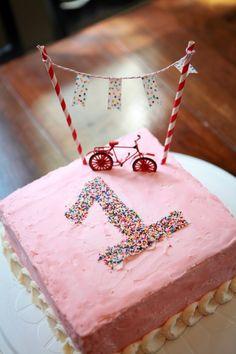 Noah bicycle party cake idea