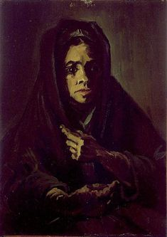 Vincent van Gogh: The Paintings (Woman with a Mourning Shawl)