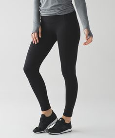 These medium-rise, cross-sport pants have you covered in all the right places. (Side Pocket)