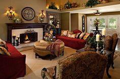Gold interior ideas