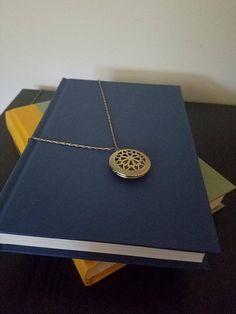Bronze Locket Necklace, Vinaigrette Necklace, Bronze Necklace, Bronze Locket