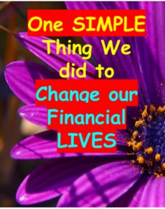 One Simple Thing We Did That Changed Our Financial Lives - Life for the Penny Wise