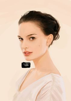 Natalie Portman (painting from photo on google images), Fabrizio Lavezzi on ArtStation at http://www.artstation.com/artwork/natalie-portman-painting-from-photo-on-google-images