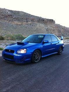 Eddie V's Subaru STi