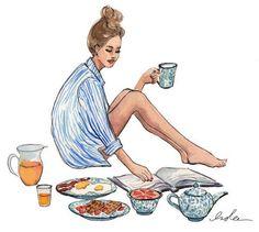 Sunday morning girl