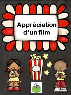 Ce document comprend 18 différentes fiches d'activités à faire après le visionnement d'un film afin d'en faire l'appréciation.