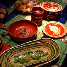 Mexican Pottery will add that fiesta feel to the southwest experience at your rental!