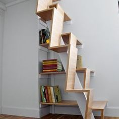 Loft on pinterest loft ladders staircase design and decor - Ladders for decorating stairs ...