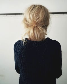 Hair Inspiration: The Low Messy Bun (via Bloglovin.com )