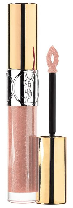 YVES SAINT LAURENT BEAUTY gloss volupte lip gloss 20 nude carat found at Nudevotion.com