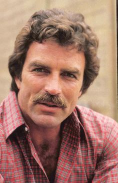 Tom Selleck, male actor, eye candy, moustache, celeb, portrait, photo